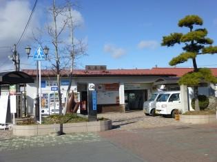 日本で一番「◯◯◯」、JR仙石線矢本駅。仙石線は高城・矢本間が震災後不通になっている