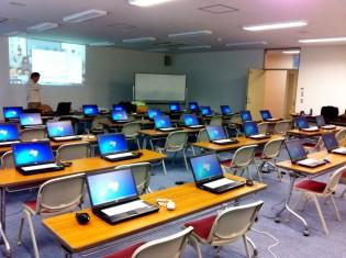 準備万端、スタートを待つばかりの第2期講座研修室