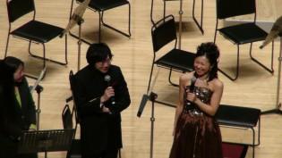 曲間に宮谷さんと高井さんから楽しいお話を伺いました