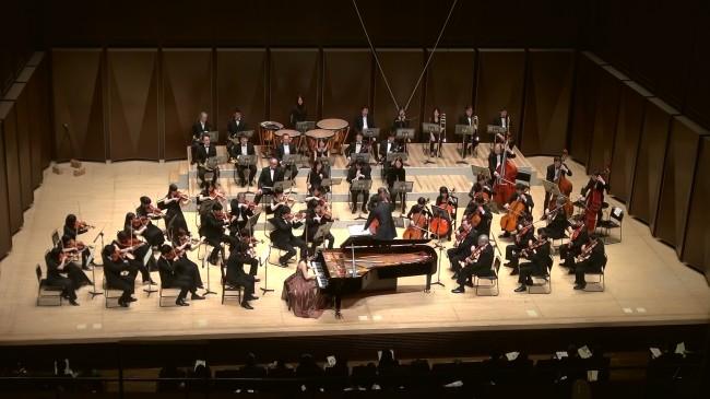 宮田理香さんとNTTフィルによるチャイコフスキーの「ピアノ協奏曲第1番作品23」の演奏