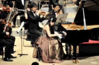 宮谷さんとNTTフィルとの共演は今回が2回目です。息も合って充実した響きが実現しました♪