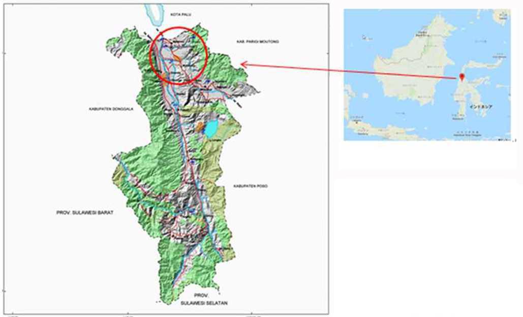 インドネシア スラウェシ島 シギ県