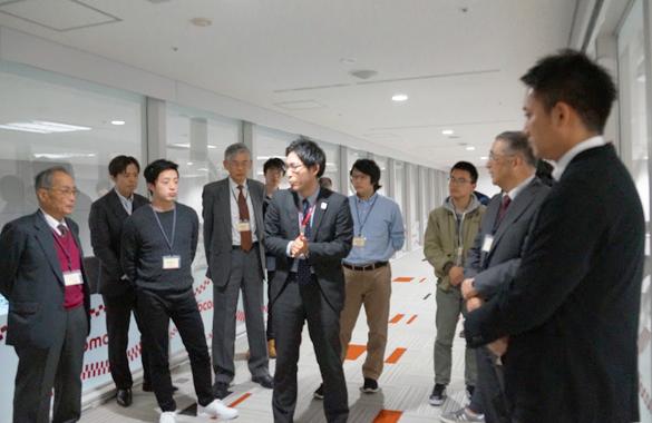 NTTドコモ ネットワークオペレーションセンターを見学